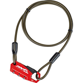 Red Cycling Products Mini Cable Lock 4,5mm x 1000mm